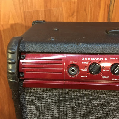 Line 6 Spider 212 Red Face 100 Watt Guitar Combo
