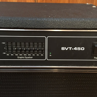 Ampeg SVT450 450w Bass Head