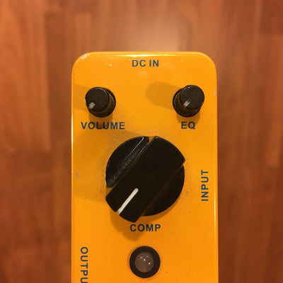 Mooer Yellow Comp Optical Compressor Pedal