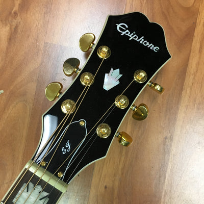 Epiphone EJ-200SCE Acoustic Electric Guitar w/ Case