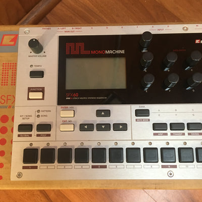 Elektron MonoMachine SFX60 MKII 6Track Synth Sequencer