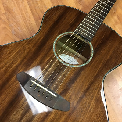 Breedlove Pursuit Concert Mahogany Acoustic Electric