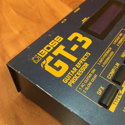 Boss GT-3 Guitar Effects Processor Pedal