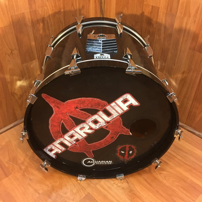 Late 80s Tama Granstar 22x16 inch Birch Bass Drum
