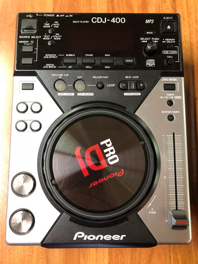 Pioneer CDJ-400 Digital CD Deck w/ MP3 Pair