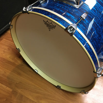 "Pearl 22"" x 18"" EXR Export Bass Drum, Blue Strata"