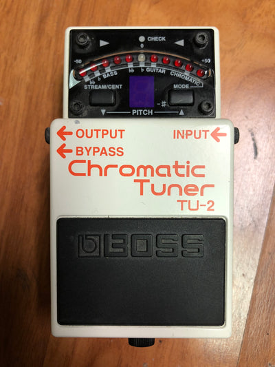 Boss TU-2 Chromatic Tuner Pedal