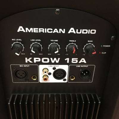 American Audio KPOW 15A Active Monitor