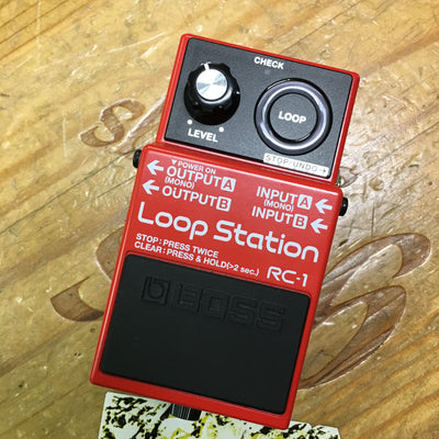 Boss Loop Station RC-1