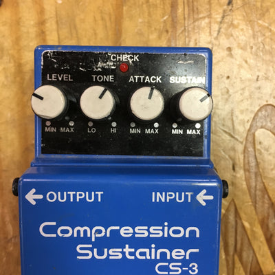 Boss CS-3 Compressor Modded