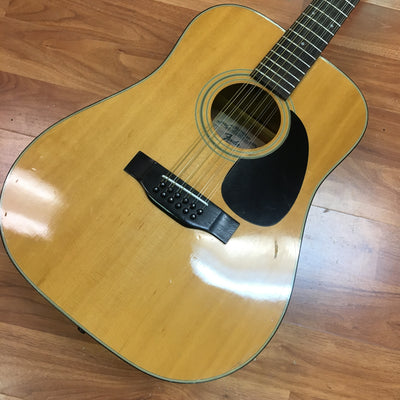 Fender F512 12 String Acoustic Guitar, 1980s