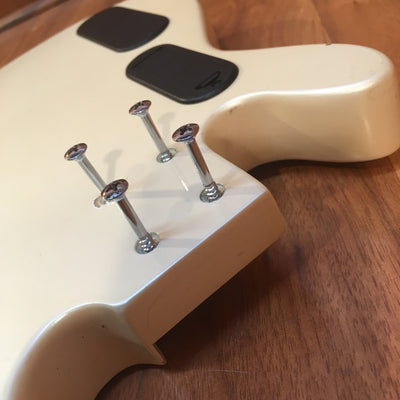 Guitar Body with Speaker
