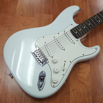 Stagg Strat Style in Sky Blue