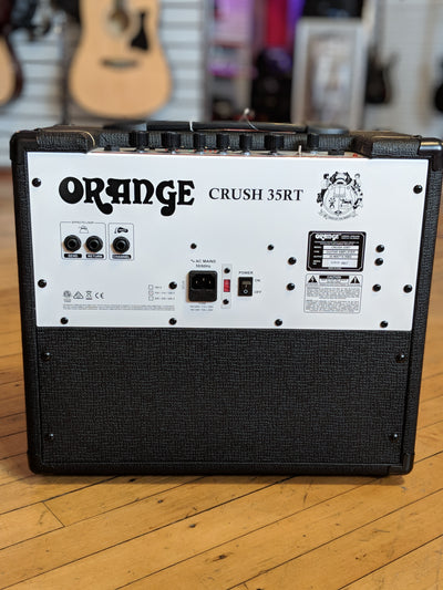 ** Orange Crush 35RT Black 35w 1x10 Guitar Combo w/ Reverb and Tuner