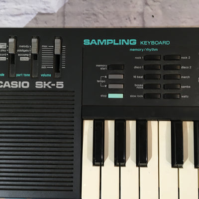 Casio SK-5 with Box and Manual