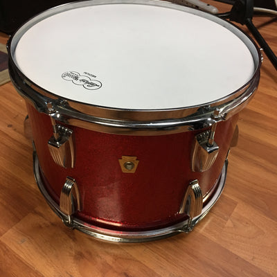 1970 Ludwig 13x8 Red Sparkle Tom