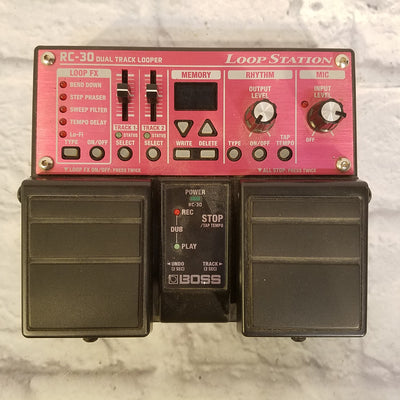 Boss RC-30 Loopstation Dual Track Looper Pedal