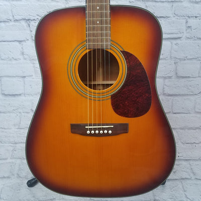 Cort Earth-150 Sunburst Dreadnaught