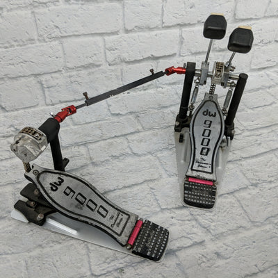 DW 9000 Double Kick Pedal