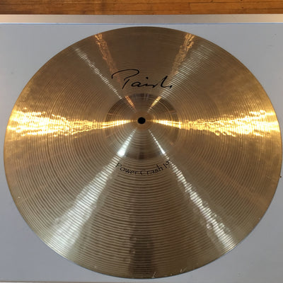"Paiste 19"" Signature Power Crash (Cracked)"