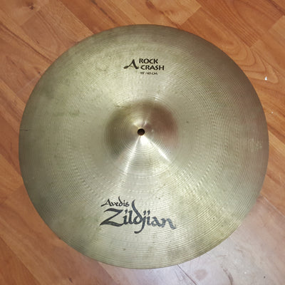 Zildjian 17in Avedis Rock Crash Cymbal CRACKED