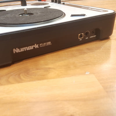Numark PT-01 USB Portable Turntable No PS