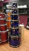 PDP Concept Maple 7pc Kit Blue Black Fade