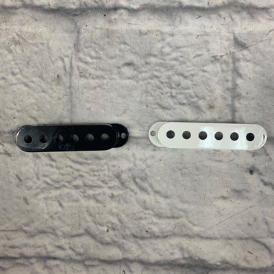 Stratocaster Pickup Cover Set used BLACK OR WHITE SEE LISTING