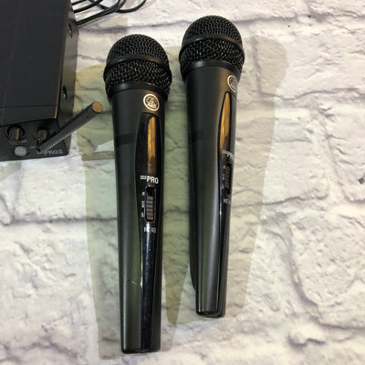 AKG SR40 / HT40 Wireless Handheld Microphone Set
