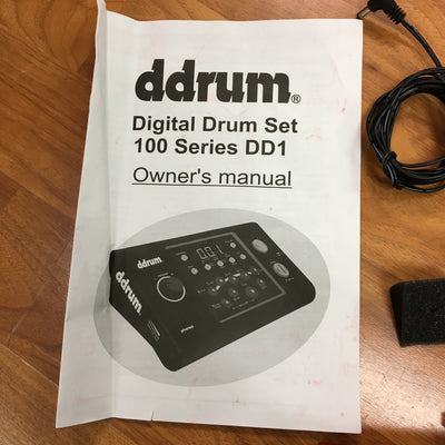 Ddrum DD1 Module and 2 Triggers