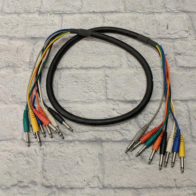 ProCo Stagemaster Multitrack 8 Channel TS Audio Cable - 5ft New