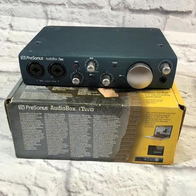 Presonus Audiobox iTwo Interface w/USB Cable