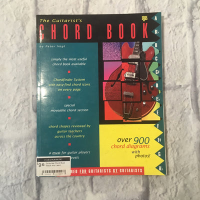 Watch And Learn The Guitarists Chord Book by Peter Vogl