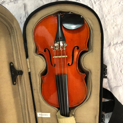 Conservarte 1/16th Stradivarius 1725 Copy Violin w Case