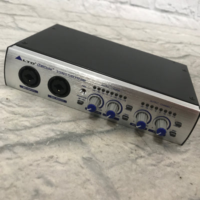 Alto Alpha MICTube 2 Channel Preamp