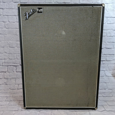 Vintage 2x12 Fender Cab with pair of Vintage JBL Signature Speakers 120F-6