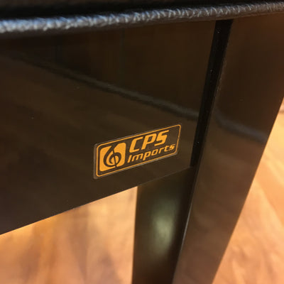 CPS Imports Black Piano Bench