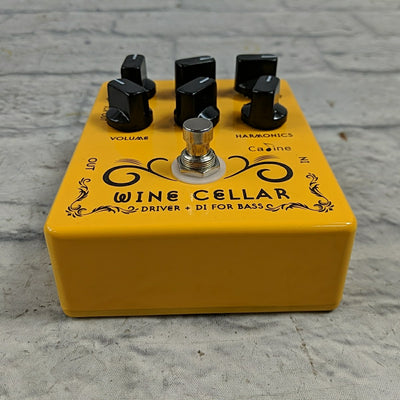 Caline CP-60 Wine Cellar Bass Driver & DI Pedal