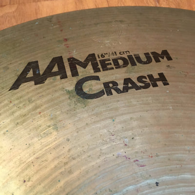 Sabian 16 Inch AA Medium Crash Cymbal