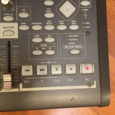 Korg D888 Digital 8 Track Mixer Recorder