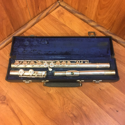 Gemeinhardt M2 Closed Hole Silver Plated Flute w/ Case