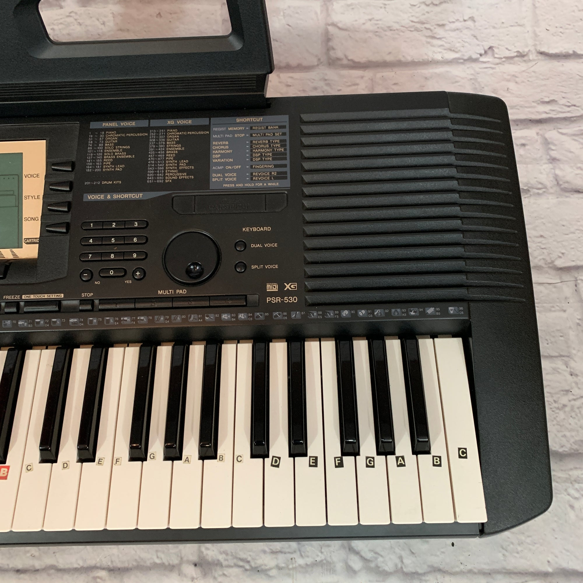 Yamaha PSR-530 Keyboard Workstation