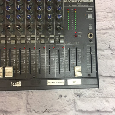 Mackie CR-1604 16 Channel Mic/Line Mixer