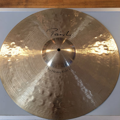 Paiste 21in Signiture Dry Heavy Ride Cymbal (Cracked)