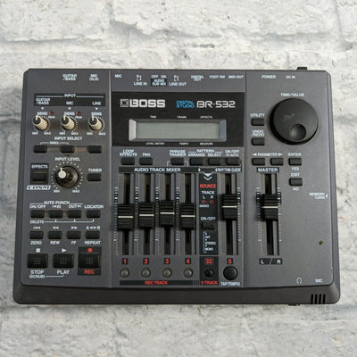 Boss BR-532 Digital Studio Compact 4-Track Recorder