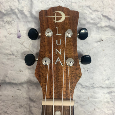Luna HTC Koa Acoustic Electric Concert Ukulele