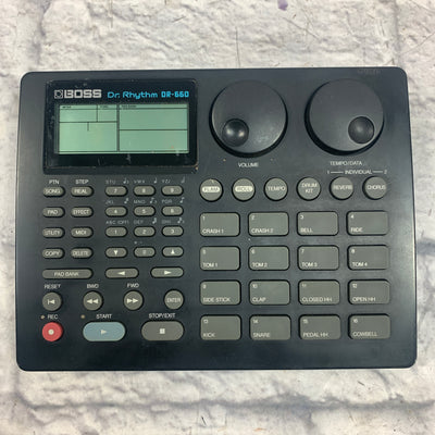 Boss DR660 Drum Machine with Power Supply