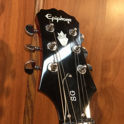 Epiphone SG G-400 Red Electric Guitar w/ Hardshell case