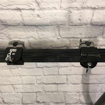 1990s Pearl Square Tube Rack System Black