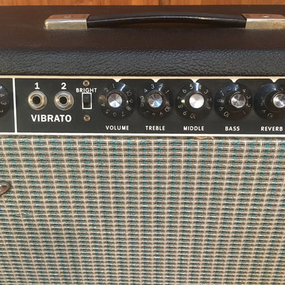 Fender 1978 Bandmaster Reverb 40w 2x10 Combo Modified